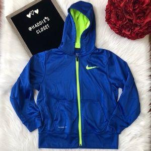 Boys Nike Therma-Fit zip up hoodie Medium